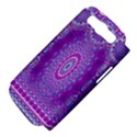 India Ornaments Mandala Pillar Blue Violet Samsung Galaxy S III Hardshell Case (PC+Silicone) View4