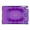 India Ornaments Mandala Pillar Blue Violet Apple iPad Mini Hardshell Case (Compatible with Smart Cover) View1
