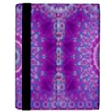 India Ornaments Mandala Pillar Blue Violet Samsung Galaxy Tab 10.1  P7500 Flip Case View2