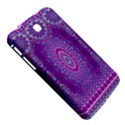 India Ornaments Mandala Pillar Blue Violet Samsung Galaxy Tab 3 (7 ) P3200 Hardshell Case  View5