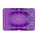 India Ornaments Mandala Pillar Blue Violet Samsung Galaxy Tab 2 (10.1 ) P5100 Hardshell Case  View1