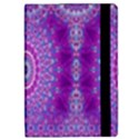 India Ornaments Mandala Pillar Blue Violet iPad Mini 2 Flip Cases View2
