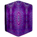 India Ornaments Mandala Pillar Blue Violet iPad Mini 2 Flip Cases View3