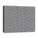 Sports Racing Chess Squares Black White Deluxe Canvas 20  x 16   View1