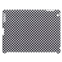 Sports Racing Chess Squares Black White Apple iPad 3/4 Hardshell Case (Compatible with Smart Cover) View1