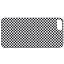 Sports Racing Chess Squares Black White Apple iPhone 5 Classic Hardshell Case View1