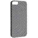 Sports Racing Chess Squares Black White Apple iPhone 5 Classic Hardshell Case View2