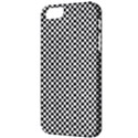 Sports Racing Chess Squares Black White Apple iPhone 5 Classic Hardshell Case View3
