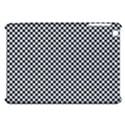 Sports Racing Chess Squares Black White Apple iPad Mini Hardshell Case View1