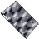 Sports Racing Chess Squares Black White Apple iPad Mini Hardshell Case View5
