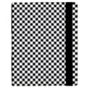 Sports Racing Chess Squares Black White Samsung Galaxy Tab 10.1  P7500 Flip Case View3