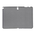 Sports Racing Chess Squares Black White Samsung Galaxy Note 10.1 (P600) Hardshell Case View1