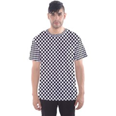 Sports Racing Chess Squares Black White Men s Sport Mesh Tee by EDDArt