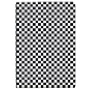 Sports Racing Chess Squares Black White iPad Air 2 Flip View1