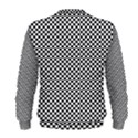 Sports Racing Chess Squares Black White Men s Sweatshirt View2