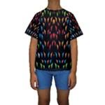 ;; Kids  Short Sleeve Swimwear