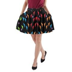 ;; A-Line Pocket Skirt