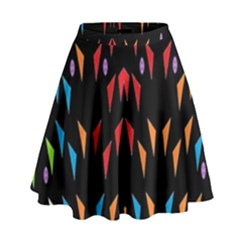 ;; High Waist Skirt