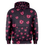 Pattern Of Vampire Mouths And Fangs Men s Pullover Hoodie