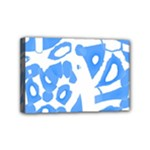 Blue summer design Mini Canvas 6  x 4