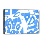 Blue summer design Deluxe Canvas 18  x 12