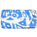 Blue summer design Apple iPhone 4/4S Hardshell Case (PC+Silicone) View1