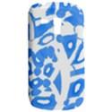 Blue summer design Samsung Galaxy S3 MINI I8190 Hardshell Case View2