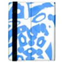 Blue summer design Samsung Galaxy Tab 8.9  P7300 Flip Case View3