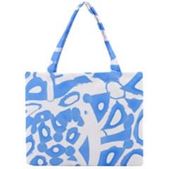 Blue summer design Mini Tote Bag