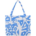 Blue summer design Mini Tote Bag