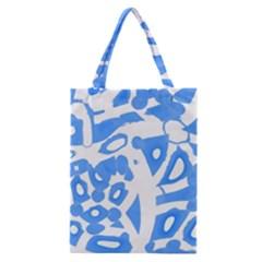 Blue summer design Classic Tote Bag