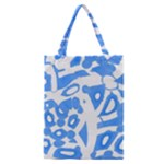 Blue summer design Classic Tote Bag
