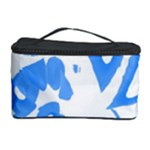 Blue summer design Cosmetic Storage Case