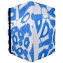 Blue summer design iPad Air 2 Flip View3