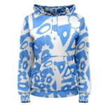 Blue summer design Women s Pullover Hoodie