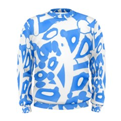 Blue Summer Design Men s Sweatshirt
