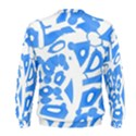 Blue summer design Men s Sweatshirt View2