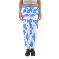 Blue summer design Women s Jogger Sweatpants