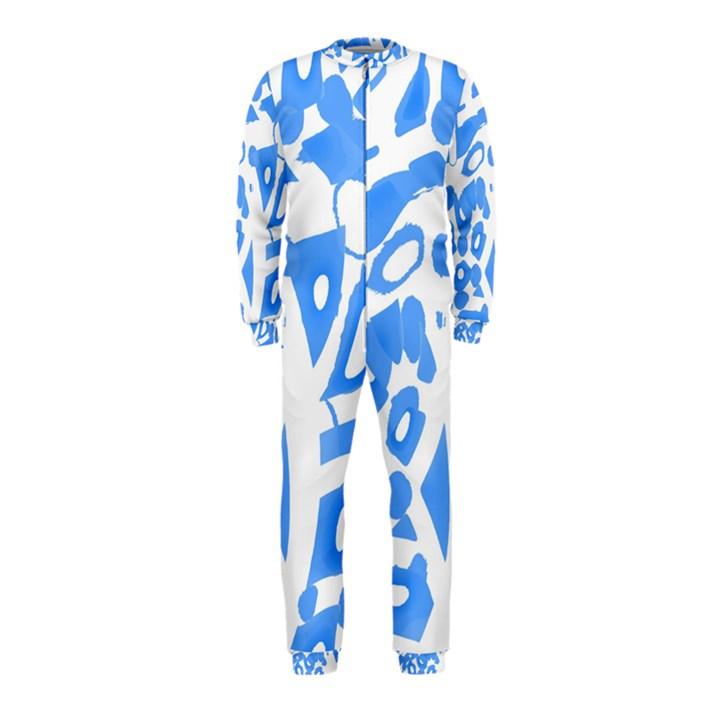 Blue summer design OnePiece Jumpsuit (Kids)
