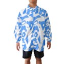 Blue summer design Wind Breaker (Kids) View1