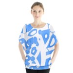 Blue summer design Blouse