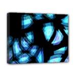 Blue light Canvas 10  x 8
