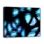Blue light Canvas 14  x 11