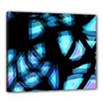 Blue light Canvas 24  x 20