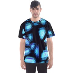 Blue light Men s Sport Mesh Tee