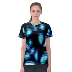 Blue light Women s Sport Mesh Tee