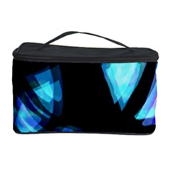 Blue light Cosmetic Storage Case by Valentinaart