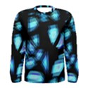 Blue light Men s Long Sleeve Tee View1