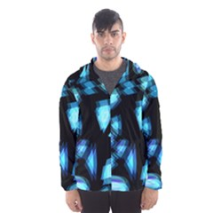 Blue light Hooded Wind Breaker (Men)