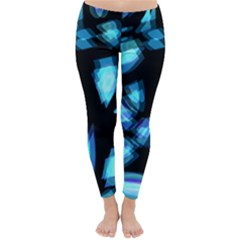 Blue light Winter Leggings